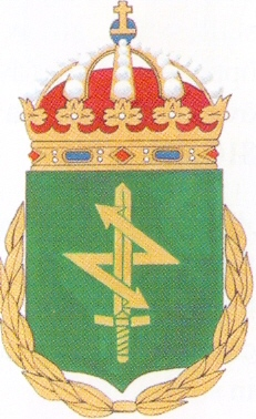 Coat of arms (crest) of the Army Staff and Signals School, Swedish Army