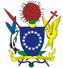 Arms of the Cook Islands