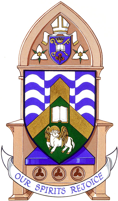 Arms of Saint Luke's Cathedral, Sault Ste. Marie