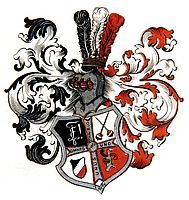 Arms of Burschenschaft Thessalia zu Prag in Bayreuth