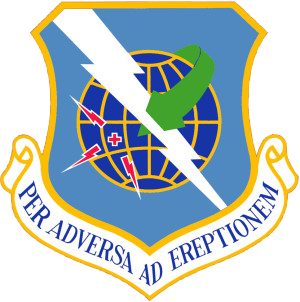 Coat of arms (crest) of the 563rd Rescue Group, US Air Force