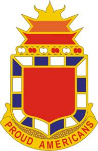 Arms of 32nd Field Arillery Regiment, US Army