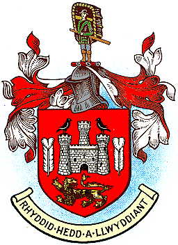 Arms (crest) of Carmarthen