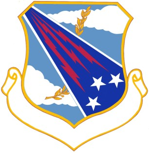 Coat of arms (crest) of the 18th Air Division, US Air Force