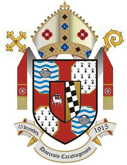 Arms (crest) of Diocese of Caratinga