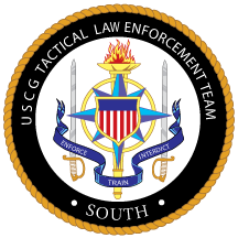 Coat of arms (crest) of the US Coast Guard Tactical Law Enforcement Team