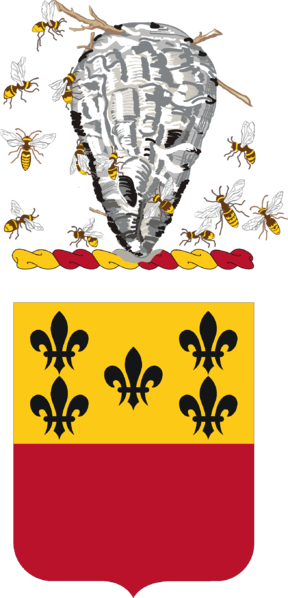 Coat of arms (crest) of the 196th Armor Regiment, North Carolina Army National Guard