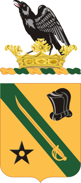 Coat of arms (crest) of the 803rd Armor Regiment, Washington Army National Guard