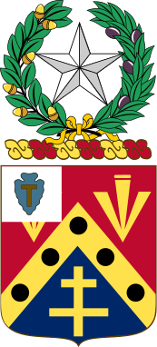 Coat of arms (crest) of the 949th Support Battalion, Texas Army National Guard
