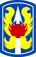 Arms of 199th Infantry Brigade, US Army