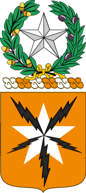 Arms of 136th Signal Battalion, Texas Army National Guard