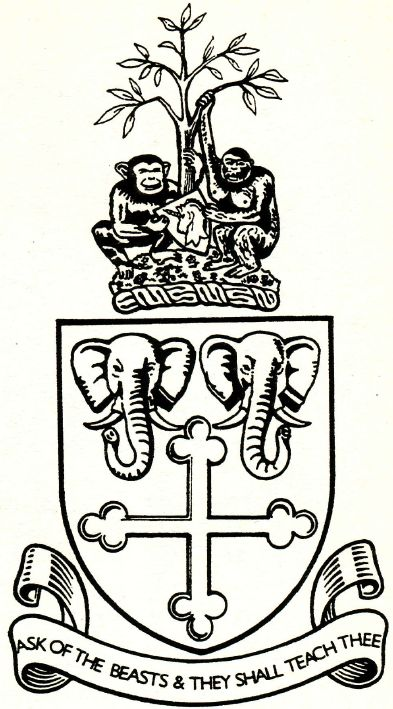 Arms of Bristol, Clifton and West of England Zoological Society