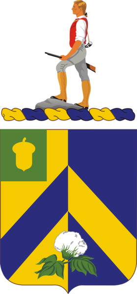 Coat of arms (crest) of the 346th (Infantry) Regiment, US Army
