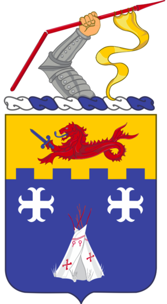 Coat of arms (crest) of the 12th Infantry Regiment, US Army