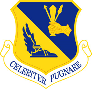 Coat of arms (crest) of the 374th Airlift Wing, US Air Force