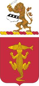 Coat of arms (crest) of the 103rd Armor Regiment, Pennsylvania Army National Guard