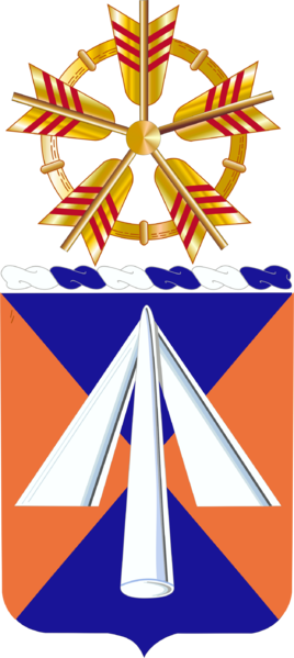 Arms of 9th Aviation Regiment, US Army