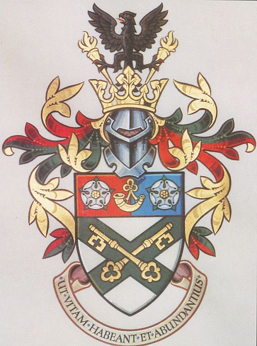 Arms (crest) of College of Ripon and York St John