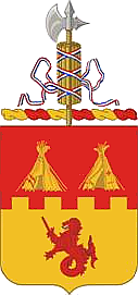 Coat of arms (crest) of the 157th Field Artillery Regiment, Colorado Army National Guard