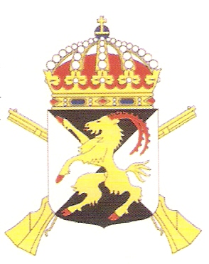 Coat of arms (crest) of the 14th Infantry Regiment Hälsinge Regiment, Swedish Army