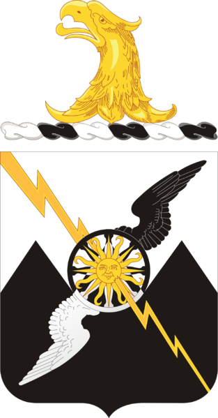 Coat of arms (crest) of the 61st Air Defense Artillery Regiment, US Army