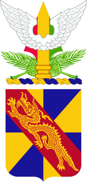 Coat of arms (crest) of the 159th Aviation Regiment, US Army
