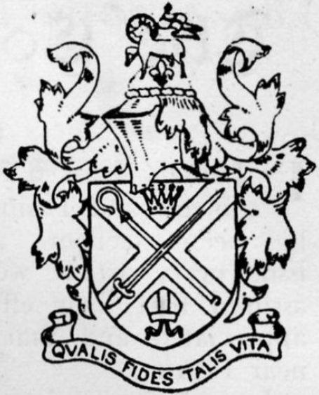 Coat of arms (crest) of Bishops' College, Cheshunt