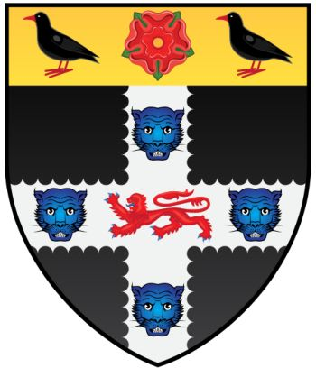 Arms (crest) of Christ Church College (Oxford University)