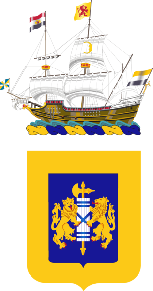 Coat of arms (crest) of the 208th Armor Regiment, New York Army National Guard