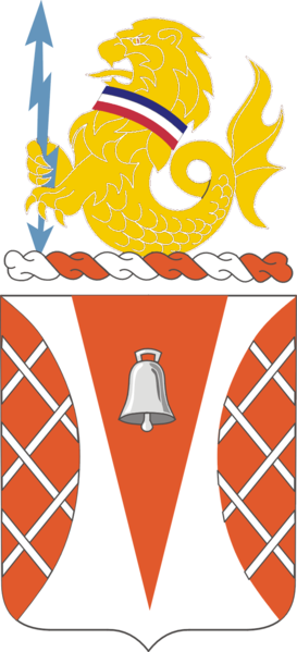 Coat of arms (crest) of the 551st Signal Battalion, US Army