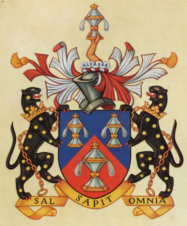 Arms of Worshipful Company of Salters