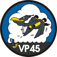 Coat of arms (crest) of the VP-45 Pelicans, US Navy