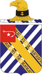 Coat of arms (crest) of the 18th Field Artillery Regiment, US Army