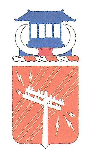 Arms of 440th Signal Battalion, US Army