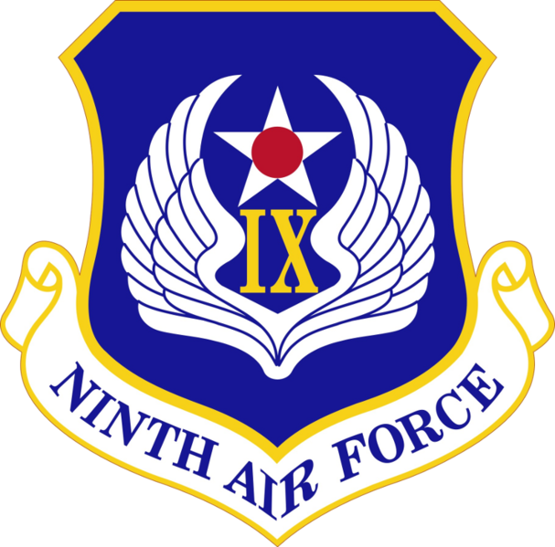 File:9th Air Force, US Air Force.png