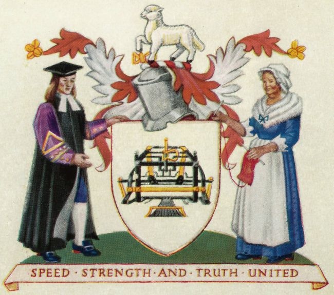 Arms of Worshipful Company of Framework Knitters