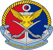 Coat of arms (crest) of the Malaysian Maritime Enforcement Agency