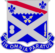 Arms of 18th Infantry Regiment, US Army