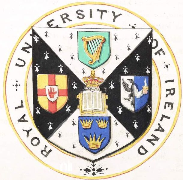 Arms of Royal University of Ireland