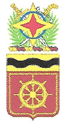 Arms of 24th Transportation Battalion, US Army