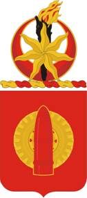 Coat of arms (crest) of the 34th Field Artillery Regiment, US Army