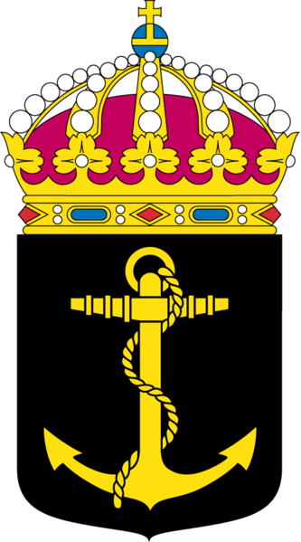 Coat of arms (crest) of the 4th Sea Combat Flottilla, Swedish Navy