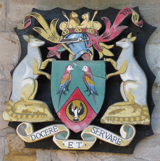 Arms of Royal Zoological Society of South Australia
