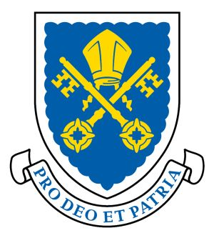 Arms of Collegiate School of St. Peter (Adelaide)