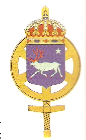 Coat of arms (crest) of the Northern Maintenance Regiment, Sweden