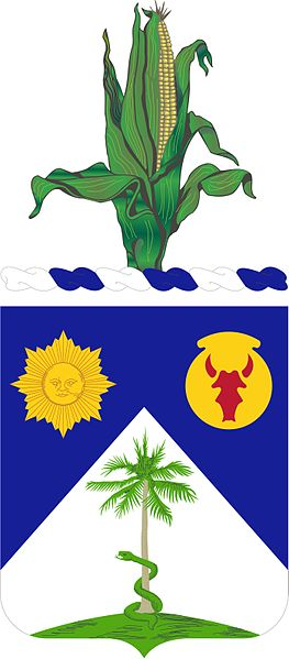 Arms of 134th Cavalry Regiment, Nebraska Army National Guard