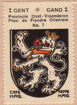 Wapen van Gent - Armoiries de Gand - Coat of arms of Ghent