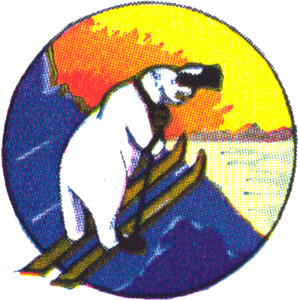 Coat of arms (crest) of the 1st Arctic Search and Rescue Squadron, USAAF