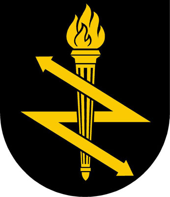 Coat of arms (crest) of the Signal Intelligence Service, Sweden