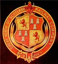 Arms of Great North of Scotland Railway